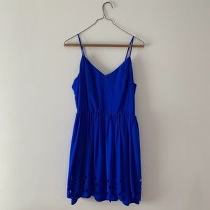 Greylin Anthropologie Blue Dress